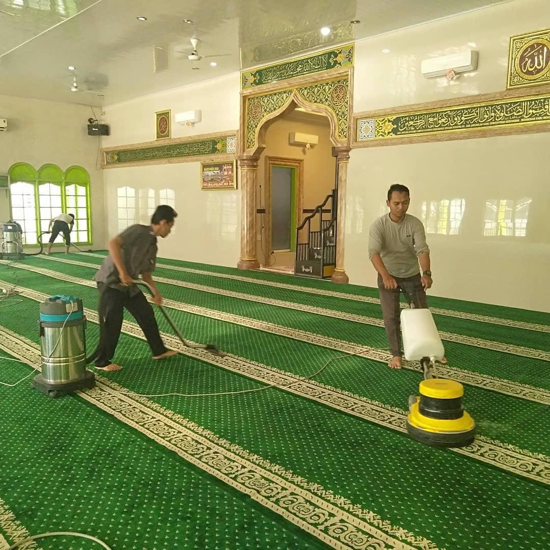 Cuci Karpet Masjid Medan