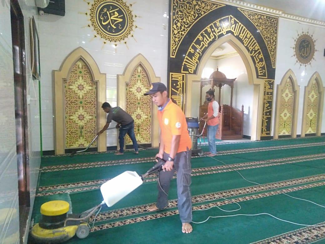 Jasa Cuci Karpet Masjid Medan
